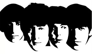 Rock n roll heaven clipart black and white svg black and white library Image result for beatles clipart black and white ... svg black and white library
