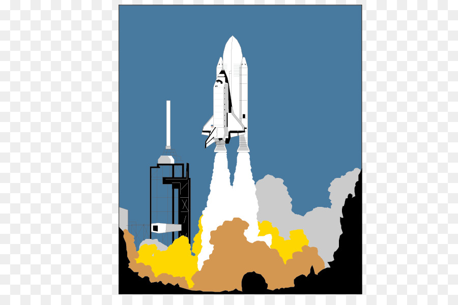 Rocket launch cartoon clipart black and white download Space Shuttle Background png download - 842*596 - Free ... black and white download