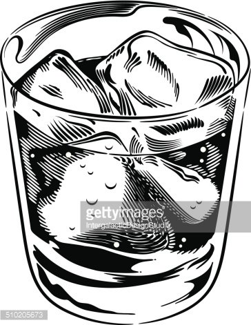 Rocks glass clipart clip art library download Whiskey Rocks Glass premium clipart - ClipartLogo.com clip art library download