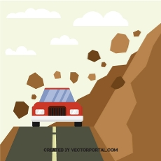 Rockslide clipart svg transparent library road accident clipart free vectors -1619 downloads found at ... svg transparent library