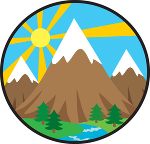 Sun over mountain clipart png free stock Rocky Mountain Clip Art | Clipart Panda - Free Clipart Images png free stock