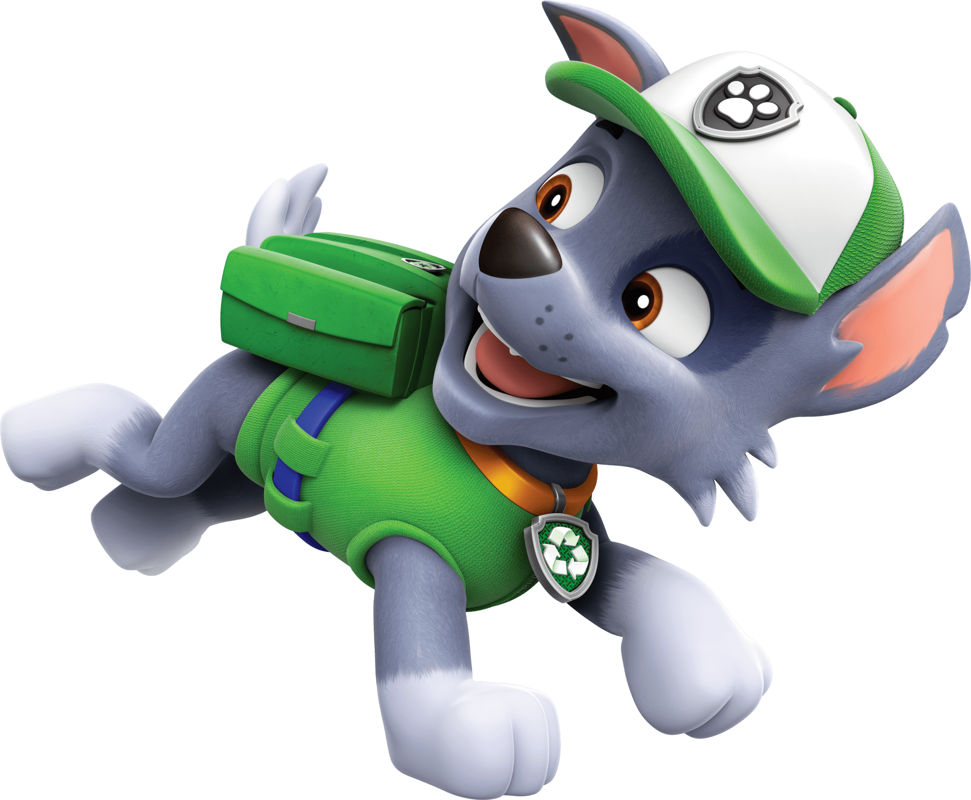Rocky paw patrol clipart png library stock Rocky Running Paw Patrol Clipart Png png library stock