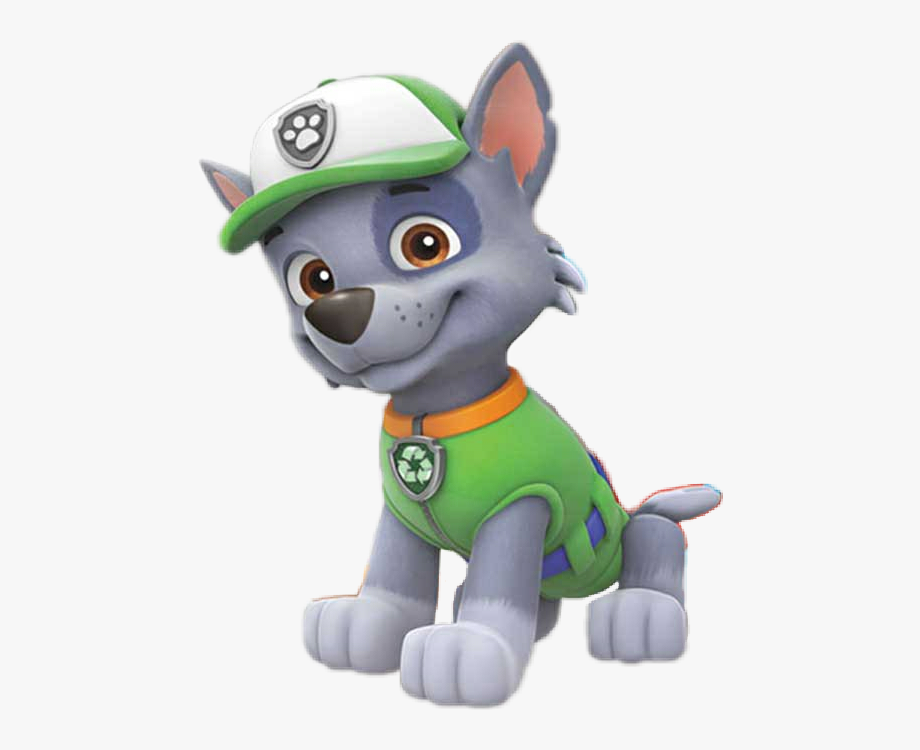 library of rocky paw patrol clip art transparent stock png