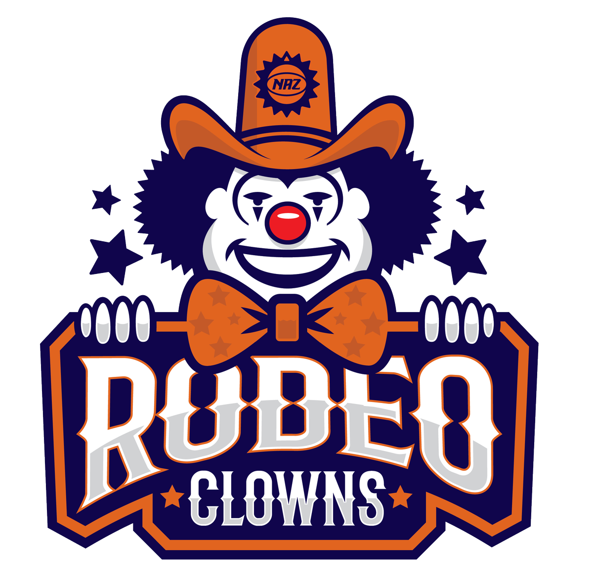Rodeo clown clipart royalty free download NAZ Suns on Twitter: \