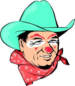 Rodeo clown clipart transparent Amazon.com: 10\