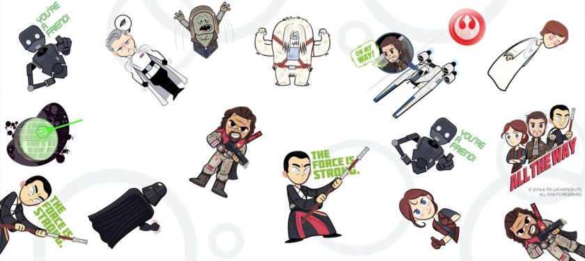Rogue one a star wars story clipart clipart freeuse library The Force is strong with the new Google Allo Star Wars Rogue ... clipart freeuse library