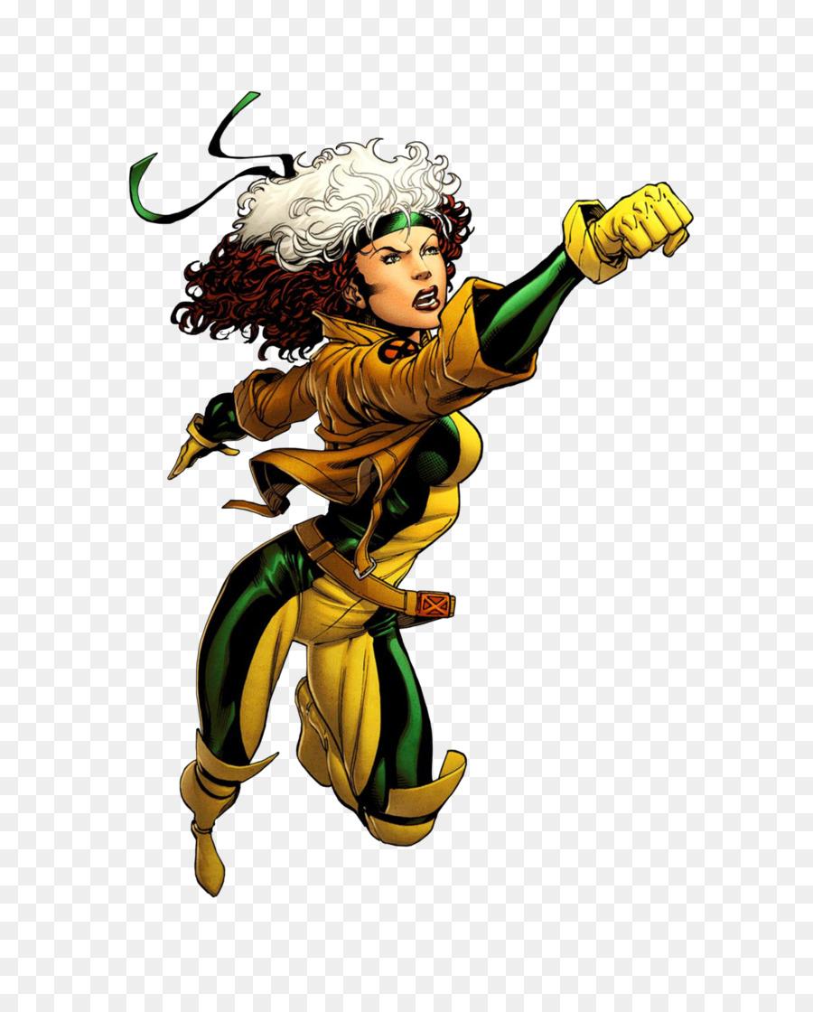 Rogue x men clipart svg royalty free library Rogue Carol Danvers Comics Comic book X-Men - x-men svg royalty free library