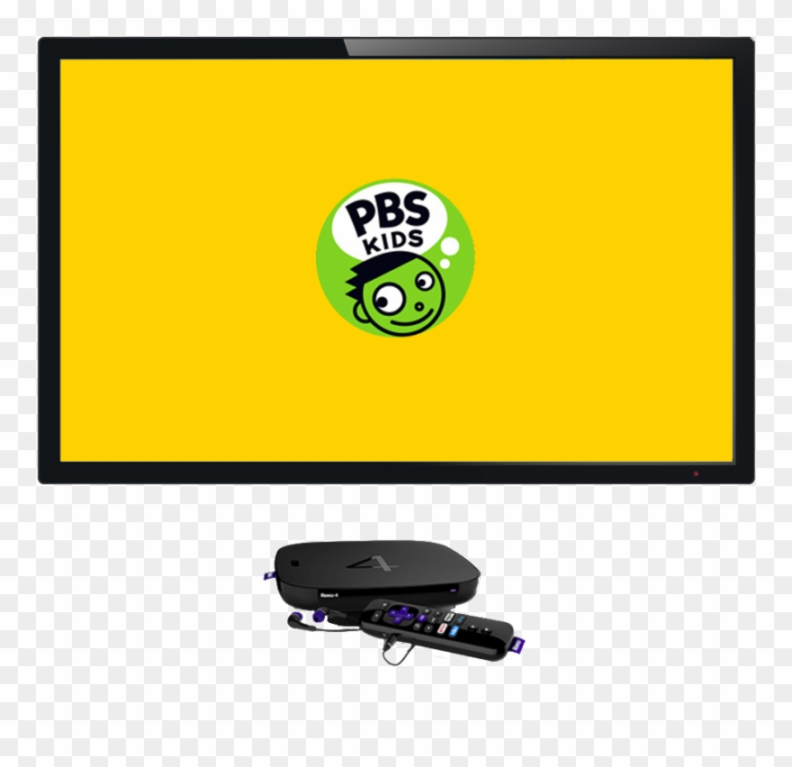 Roku icon clipart svg library library Pbs Kids On Roku - Pbs Kids Clipart (#1099617) - PinClipart svg library library