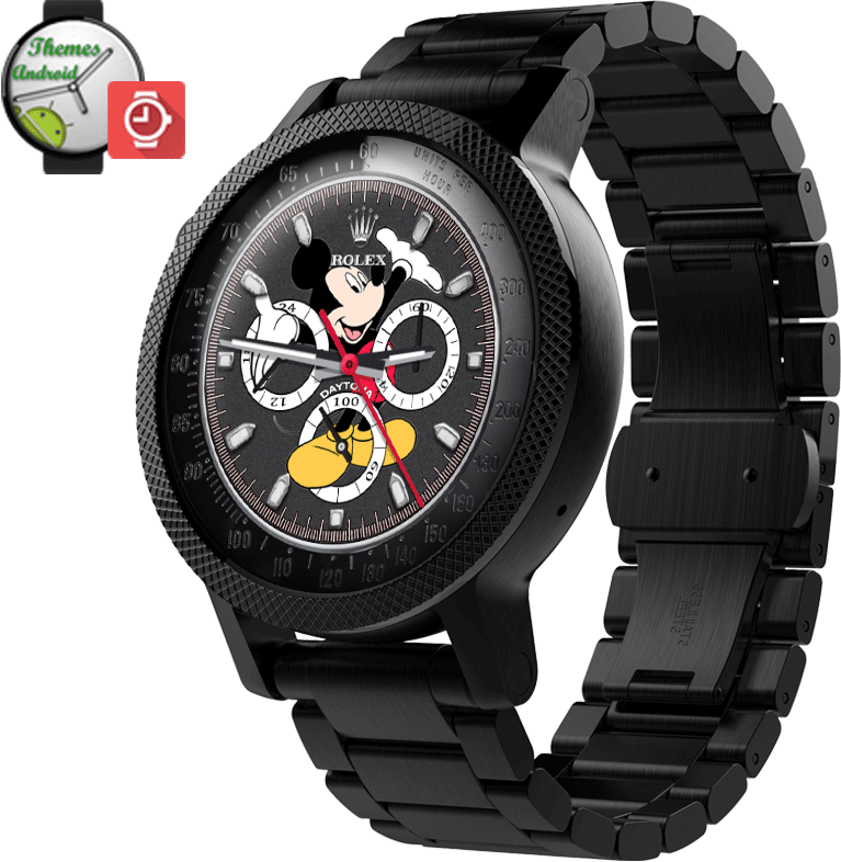 Rolex Daytona Mickey Mouse Multi Screen Watch Face [Elite ... picture download