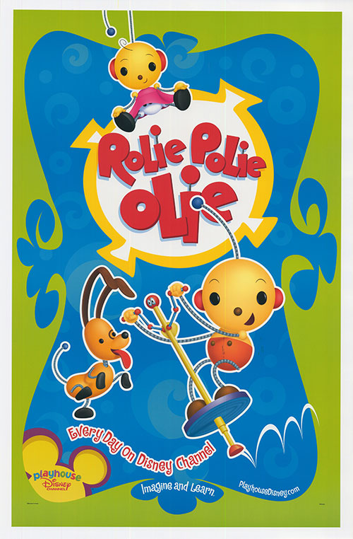 Rolie polie olie clipart banner stock Rolie Polie Olie movie posters at movie poster warehouse ... banner stock