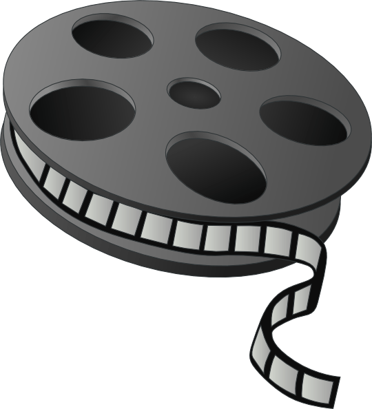 Movie roll clipart picture free stock Roll of film clipart 1 » Clipart Portal picture free stock
