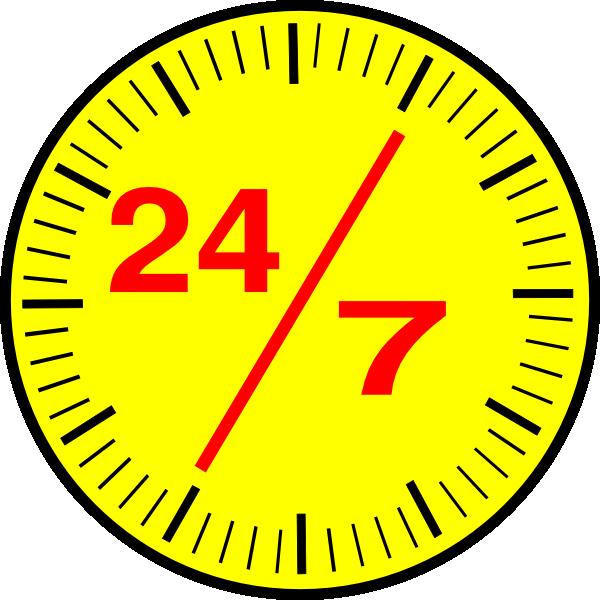 Roll of money clipart jpg transparent download 24 7 Clock Clip Art at Clker.com - vector clip art online, royalty ... jpg transparent download