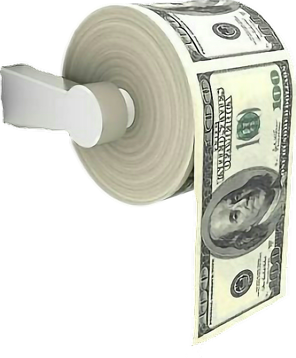 Roll of money clipart clipart royalty free download paper toiletpaper money bands stacks racks bandz dinero... clipart royalty free download