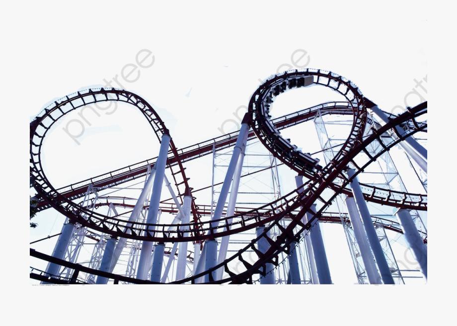 Roller coaster border clipart image royalty free download Roller Coaster Clipart Track - Roller Coaster Tracks Png ... image royalty free download