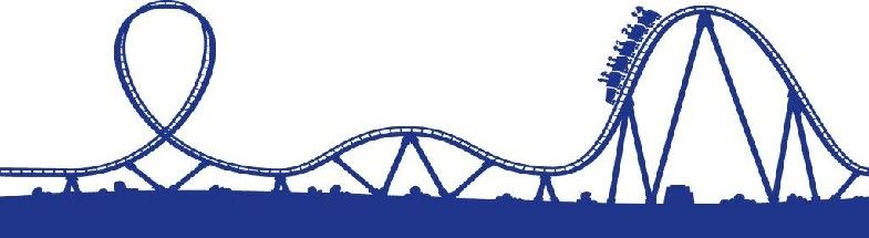 Roller coaster border clipart banner library Roller coaster clipart - 33 transparent clip arts, images ... banner library