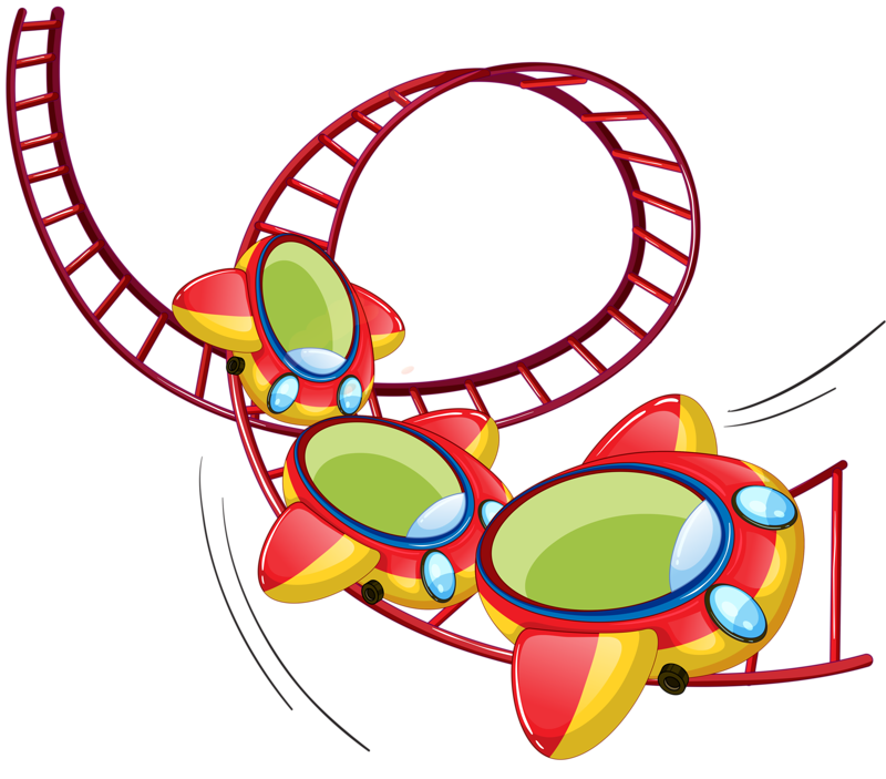 Roller Coaster Silhouette at GetDrawings.com | Free for personal use ... clipart free stock