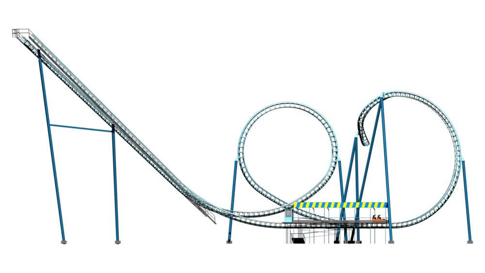 Roller coaster car clipart banner free library Roller Coaster PNG Transparent Images | PNG All banner free library