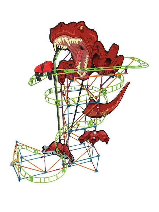 Roller coaster clipart click stars to rate graphic transparent library T Rex Fury Roller Coaster Building Set - K\'NECTED with Viewer graphic transparent library