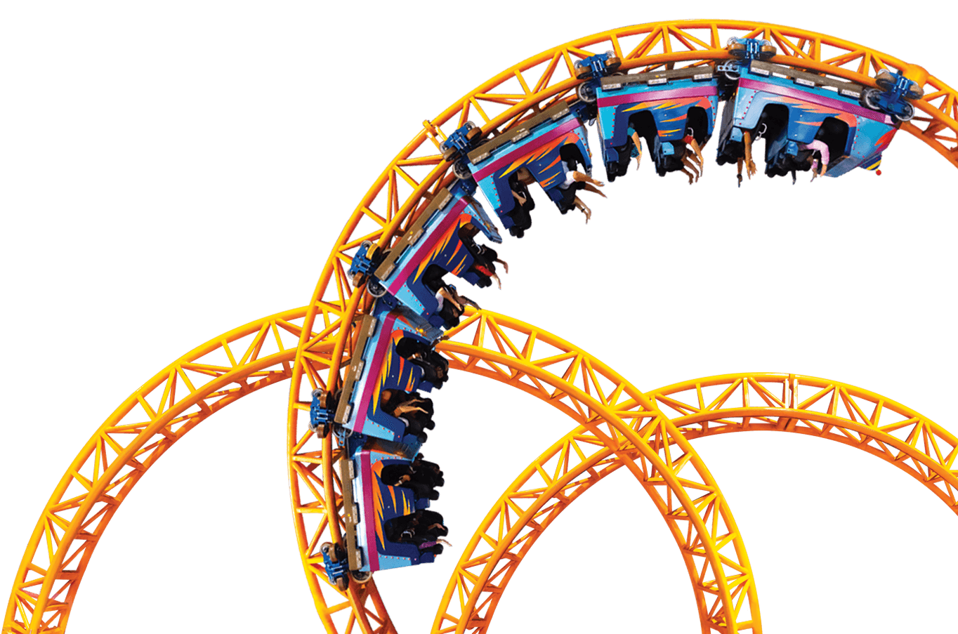 Roller coaster clipart click stars to rate png library download HOME - Berjaya Times Square Theme Park png library download