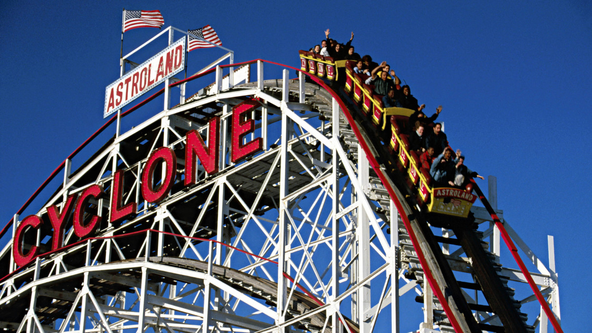 Roller coaster clipart click stars to rate jpg free stock This Day in History: 06/16/1884 - First U.S. roller coaster jpg free stock