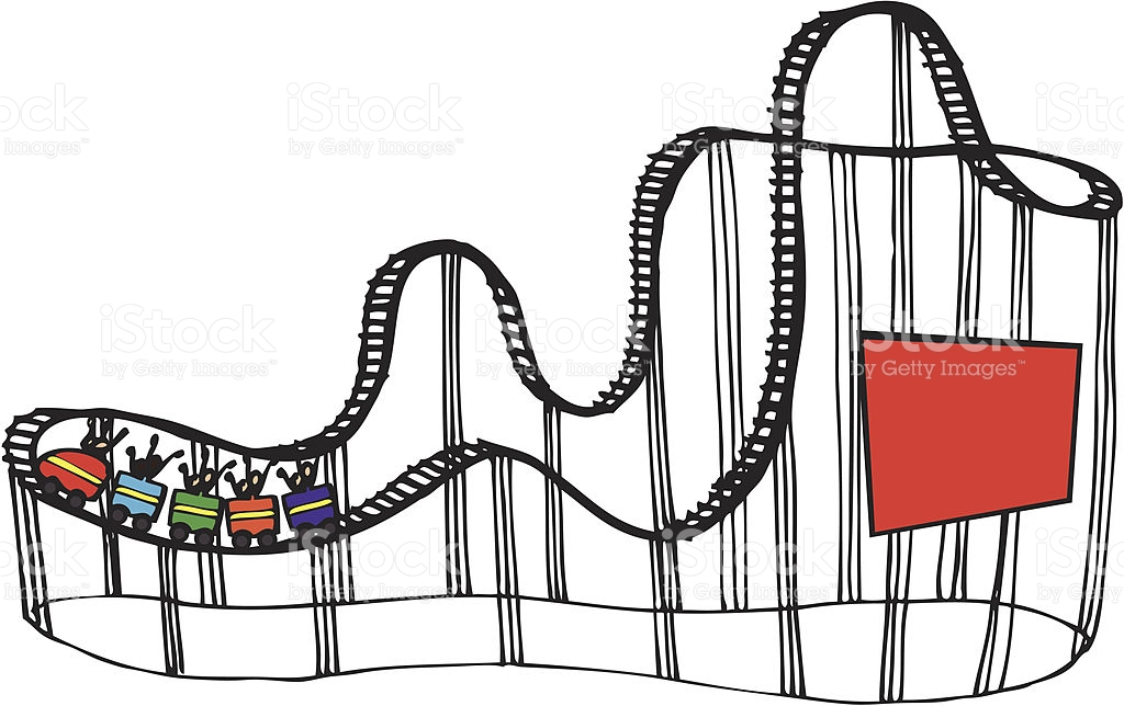 Roller coaster clipart images free png freeuse download Roller Coaster Clipart Black And White   Free download best ... png freeuse download