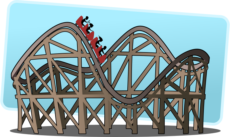 Rollercoaster clipart clipart download Free Clipart: Roller coaster | tzunghaor clipart download