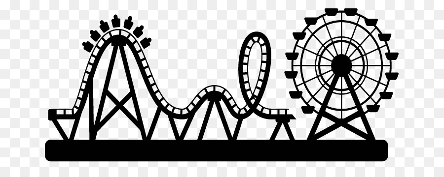 Rollercoaster clipart svg stock Roller coaster clipart black and white 4 » Clipart Station svg stock