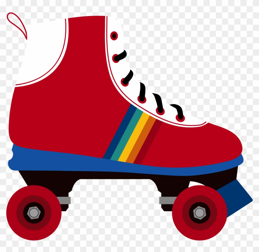 Neon roller skate clipart on black background clip art royalty free stock Roller Disco Png Image With Transparent Background - Roller ... clip art royalty free stock