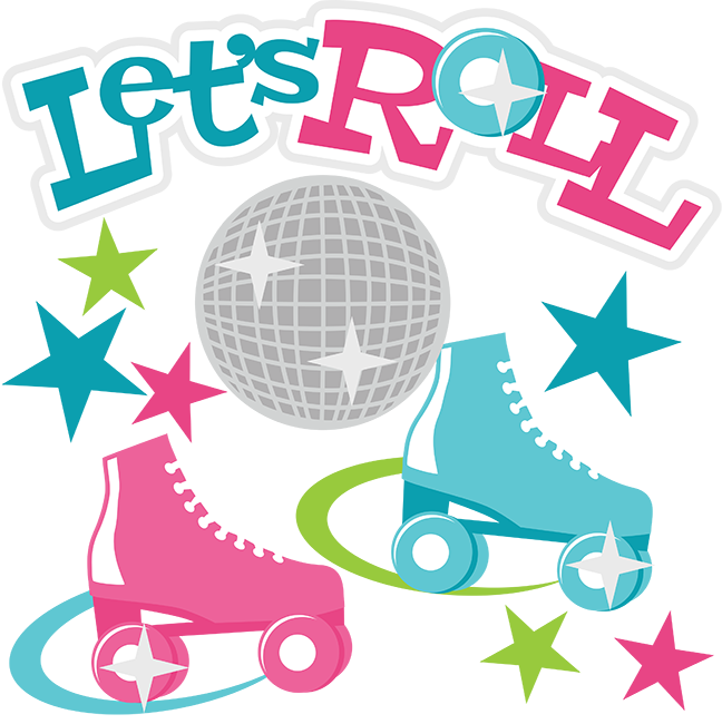 Roller skating pumpkin clipart picture transparent library Let's Roll SVG Scrapbook Collection roller skating svg file roller ... picture transparent library