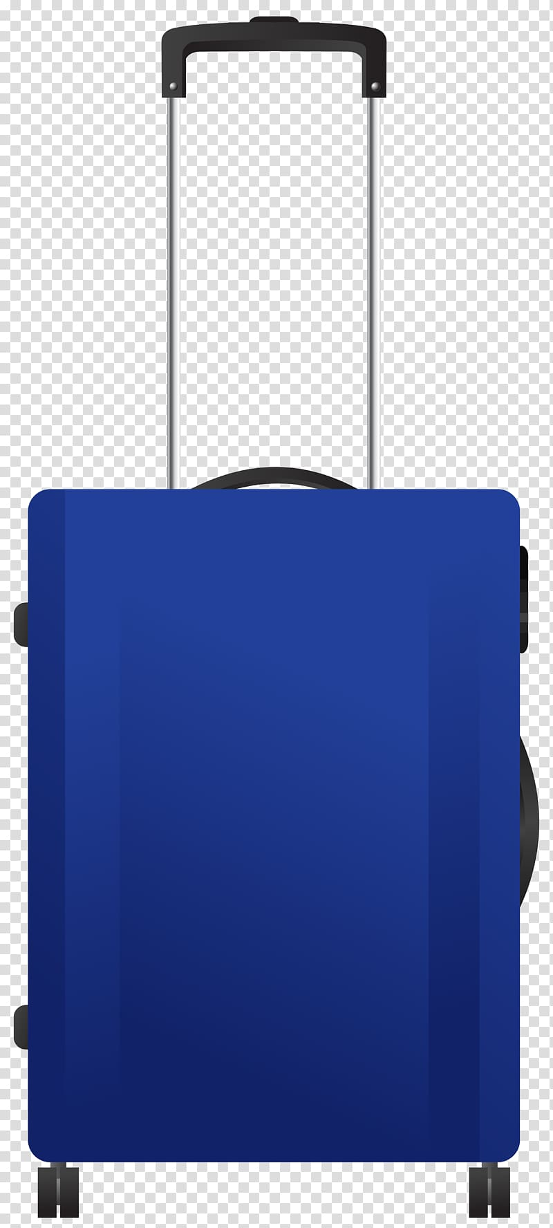 Rollercase clipart graphic Blue luggage, Blue Trolley Travel Bag transparent background ... graphic