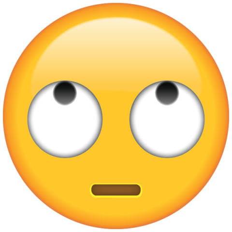 Rolling eyes emoji clipart picture library download Eye Roll Emoji picture library download
