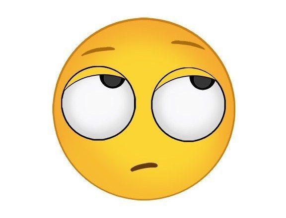 Rolling eyes emoji clipart svg black and white stock Eye roll emoji.   emoji   Funny emoji, Emoji, Eyes emoji svg black and white stock