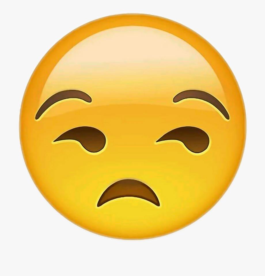 Rolling eyes emoji clipart graphic free Eye Roll Emoji Png - Unamused Emoji , Transparent Cartoon ... graphic free