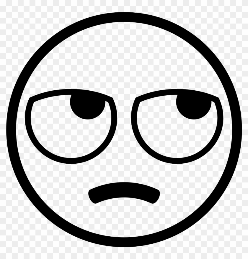 Rolling eyes emoji clipart clip black and white Eye-rolling - Eye Roll Emoji Black And White, HD Png ... clip black and white
