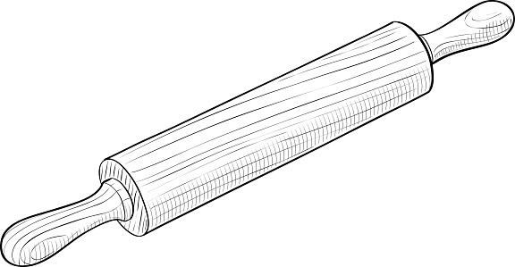 Rolling pin clipart jpg black and white library Free Rolling Pin Cliparts, Download Free Clip Art, Free Clip ... jpg black and white library