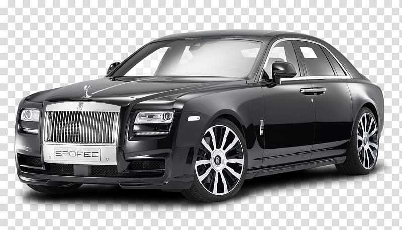 Rolls royce clipart png black and white library Black Rolls Royce Spofec coupe, 2018 Rolls-Royce Ghost Rolls ... png black and white library