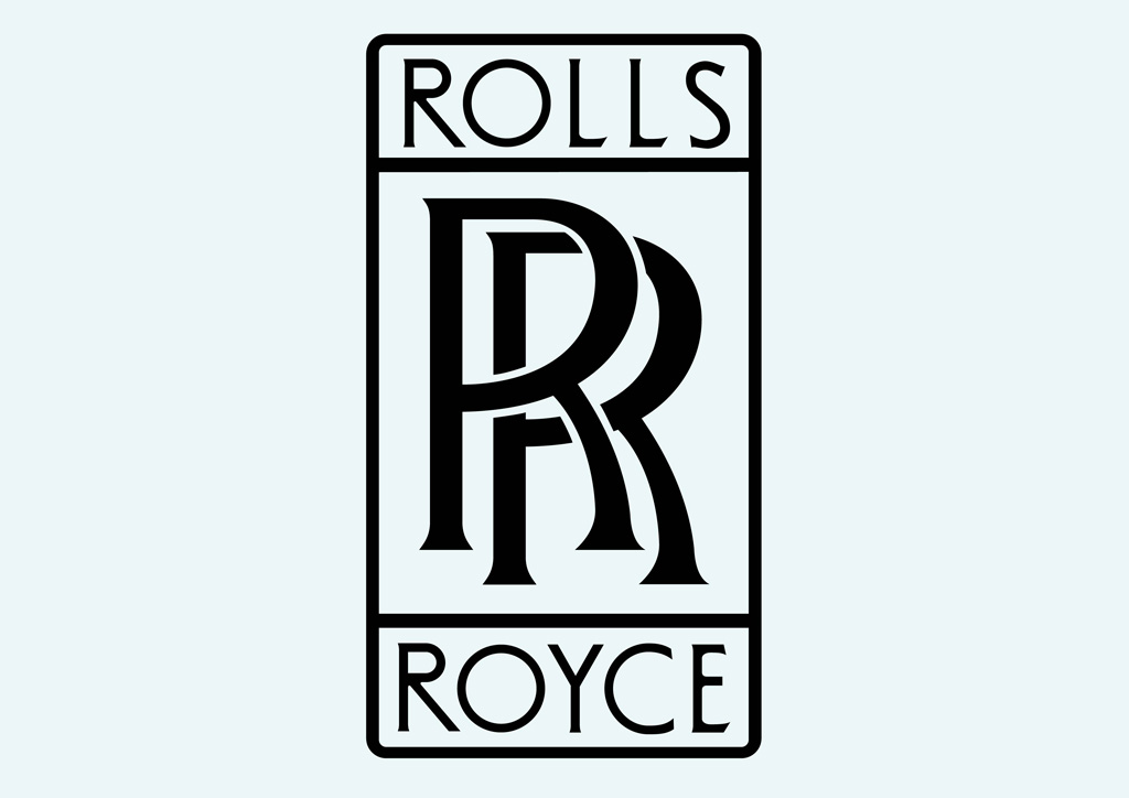 Rolls royce logo clipart clipart royalty free Rolls Royce Vector Logo | free vectors | UI Download clipart royalty free