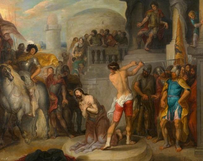 Roman boxing paul s time corinthians 9 clipart vector transparent The death of the Apostle Paul | Newman Research Centre for ... vector transparent
