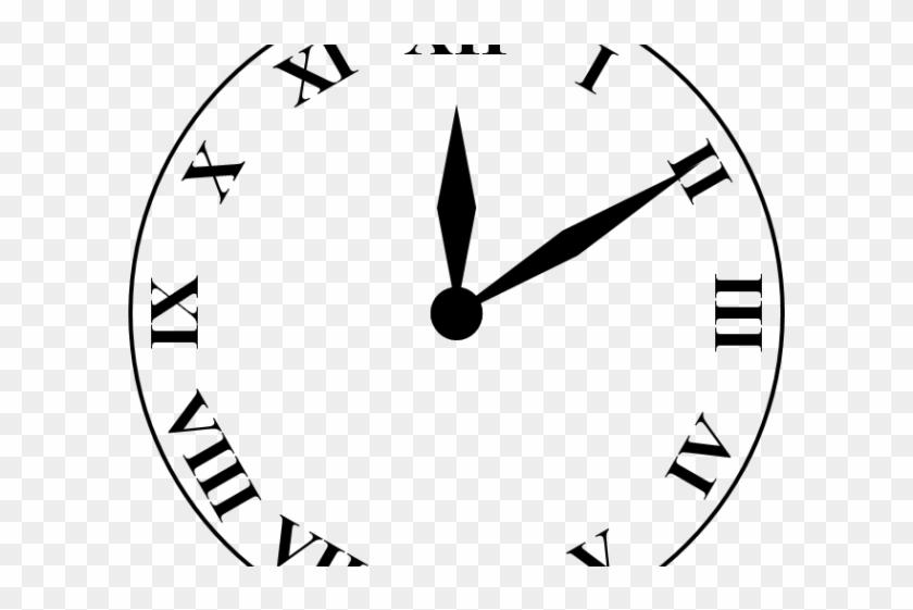 Roman numeral clock clipart clipart royalty free Clock Clipart Roman Numerals - Roman Numbers Clock, HD Png ... clipart royalty free