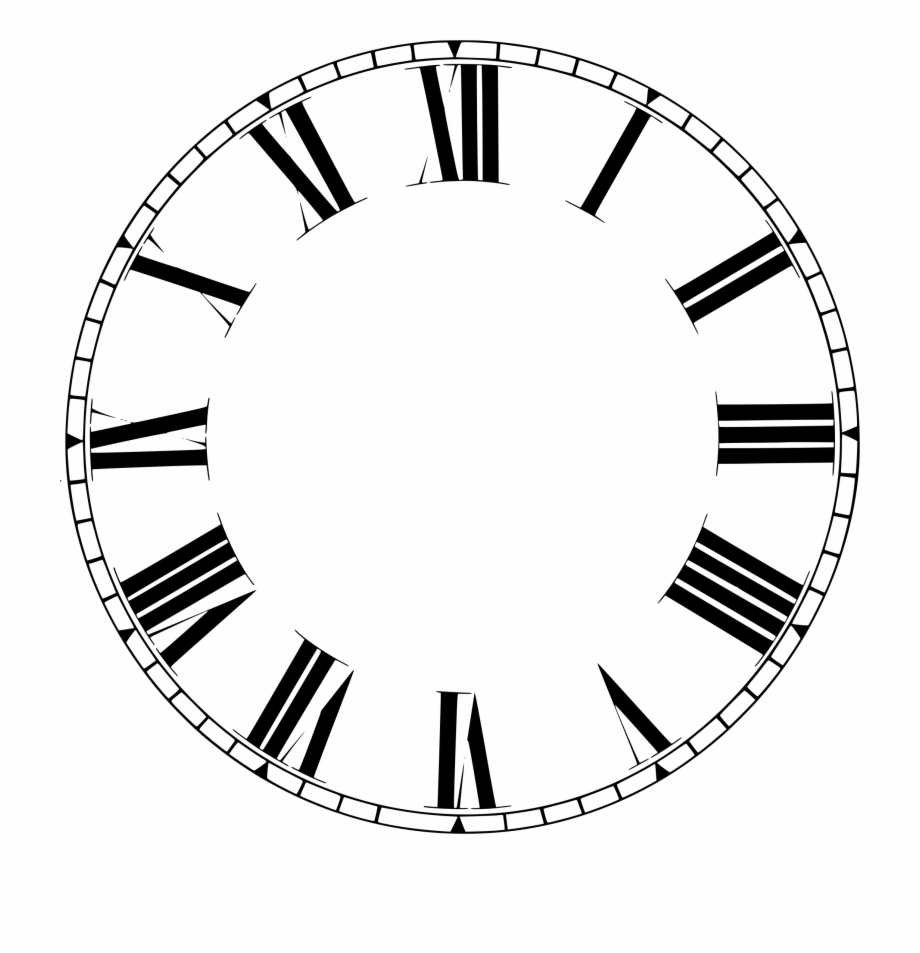 Roman numeral clock clipart svg free download Clock Roman Numerals Clipart Png - Clockhouse Free PNG ... svg free download