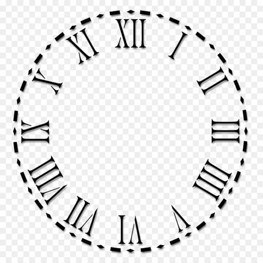 Roman numeral clock clipart image download Circle Time clipart - Clock, Illustration, Time, transparent ... image download