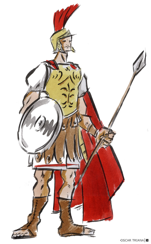Roman soldier clipart clip black and white stock Free Roman Soldier, Download Free Clip Art, Free Clip Art on ... clip black and white stock