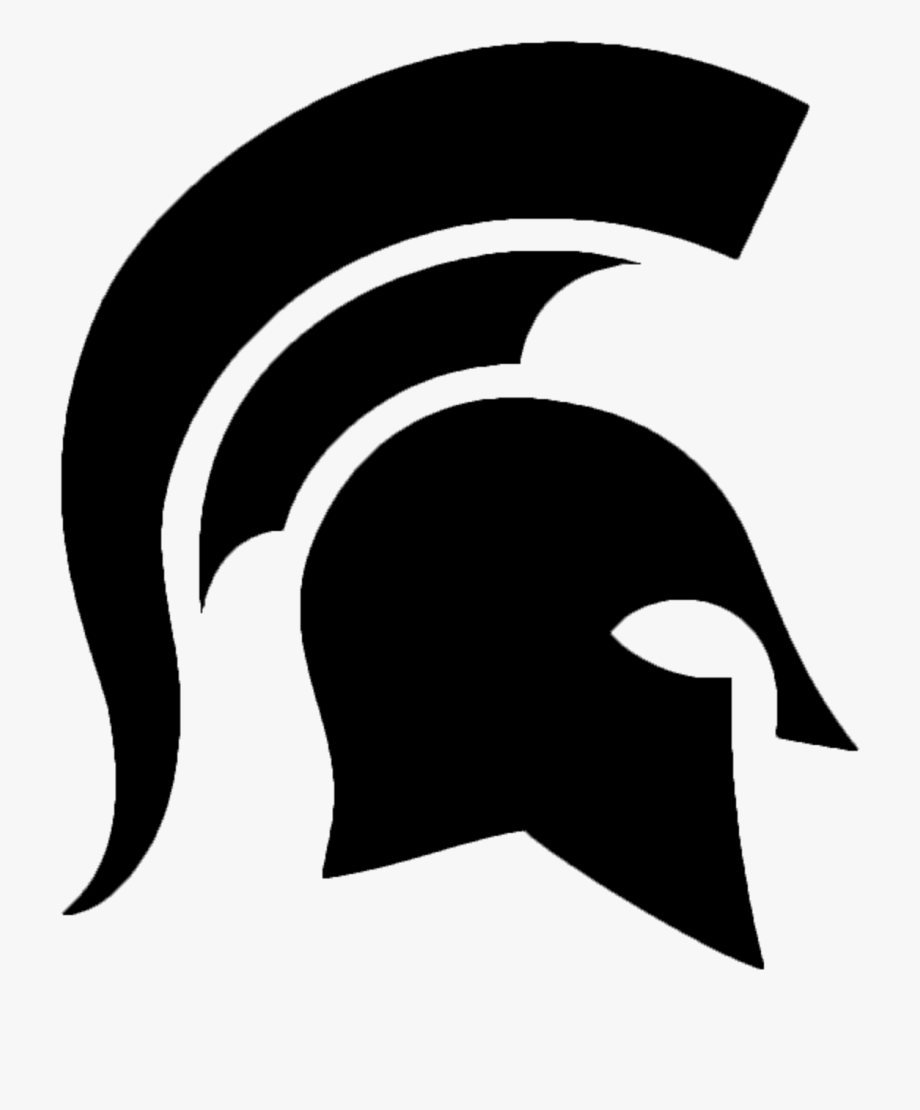 Spartan helmet clipart transparent clipart free Roman Soldier Helmet Clipart - Michigan State Spartans ... clipart free