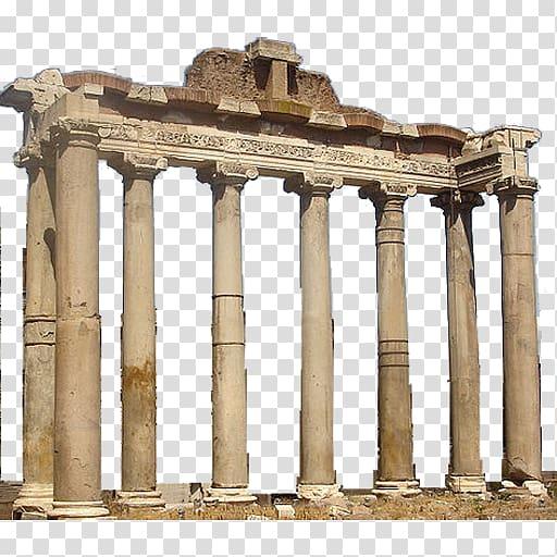 Roman temple frame clipart banner royalty free Roman temple Roman Forum Arch of Septimius Severus Temple of ... banner royalty free