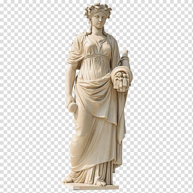 Roman woman clipart png stock Woman statute, Marble sculpture Statue Garden sculpture ... png stock
