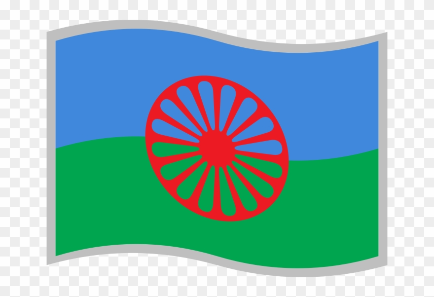 Romani clipart picture royalty free library By Skotan - Flag Of The Romani People Clipart (#1246499 ... picture royalty free library