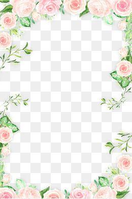 Romantic clipart borders png free 2019 的 Romantic Pink Flower, Flower Clipart, Flowers PNG ... png free