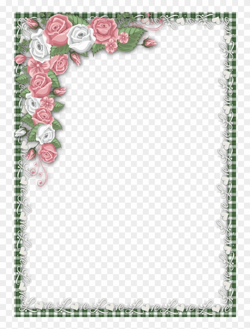 Romantic clipart borders svg royalty free library B *✿* Love Png, Printable Frames, Borders And Frames ... svg royalty free library
