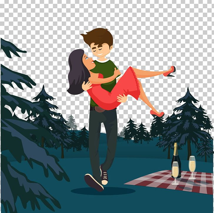 Romanticwoman clipart royalty free library Romance Animation Couple PNG, Clipart, Boy, Camping, Cartoon ... royalty free library
