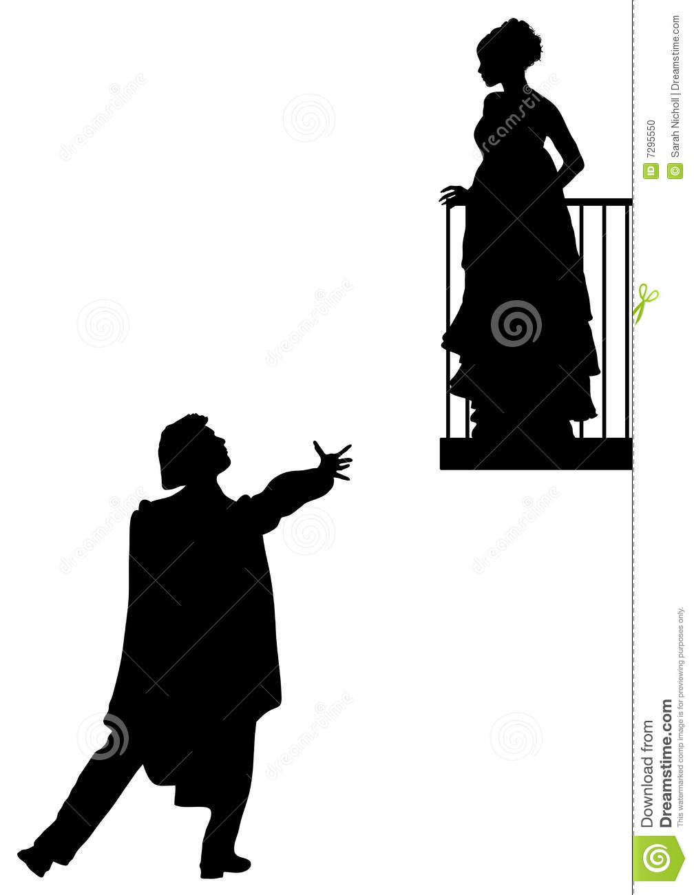 Romeo and juliet clipart